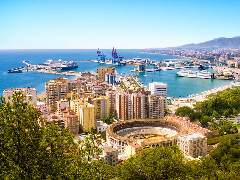 Harbour view - Malaga